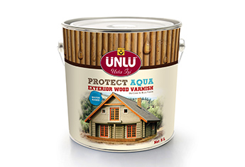 ÜNLÜ PROTECT AQUA Waterbased Exterior Wood Varnish