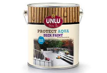 ÜNLÜ PROTECT AQUA Waterbased Deck Paint
